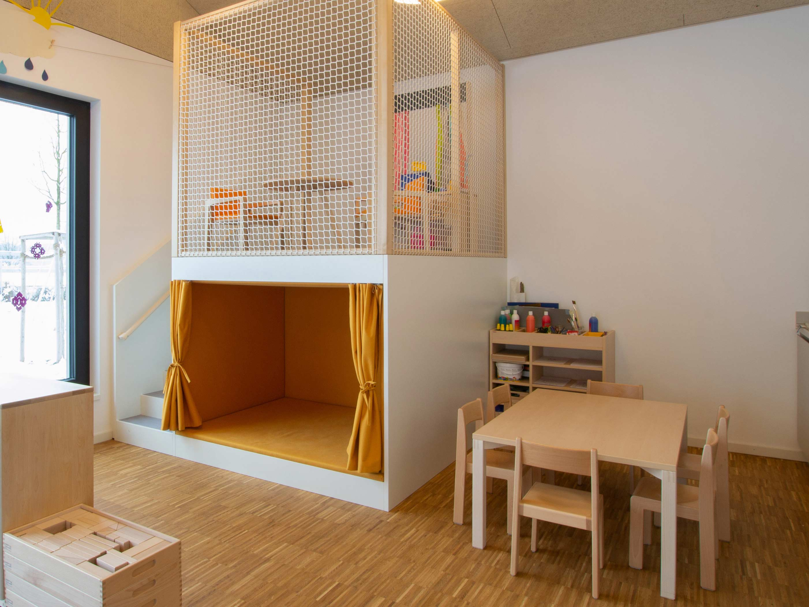 Kindergarten-perchting